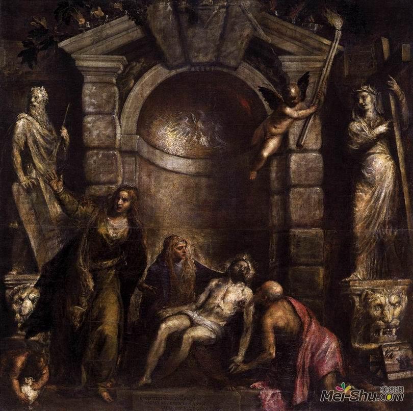 提香Titian作品 圣殤﹝Pieta﹞