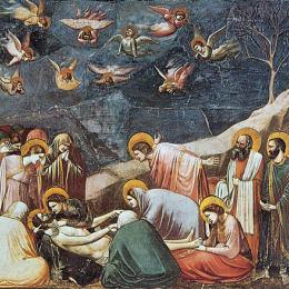 喬托·迪·邦多內高清作品《哀悼基督》