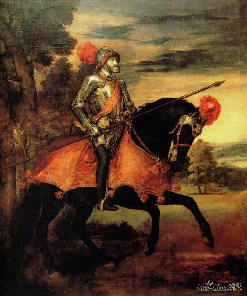提香Titian作品 查尔斯皇帝