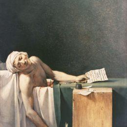 雅克-路易·大衛高清作品《馬拉之死》
