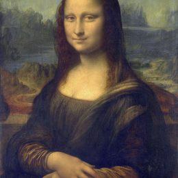 達·芬奇高清作品《蒙娜麗莎》