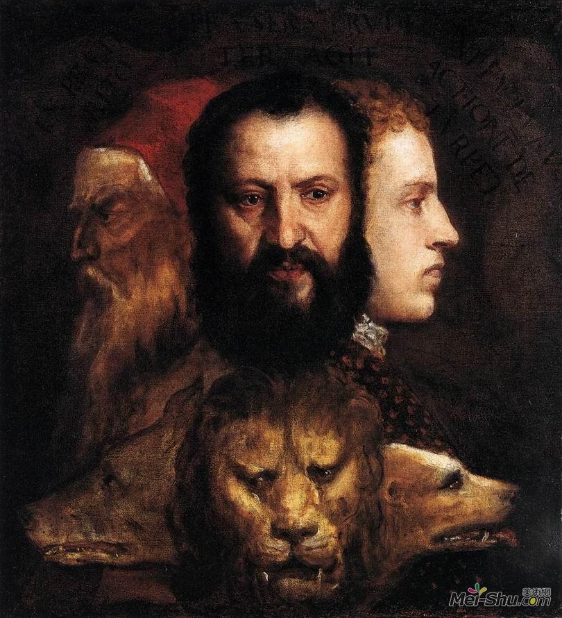 提香Titian作品 寓言