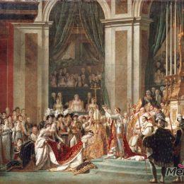 雅克-路易·大衛高清作品《拿破侖加冕》