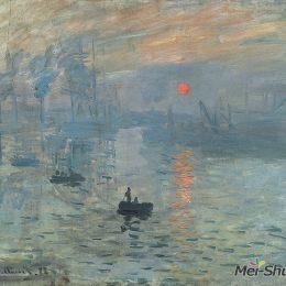 克勞德·莫奈高清作品《日出·印象》