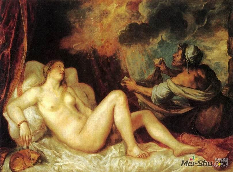 提香Titian作品 达那厄