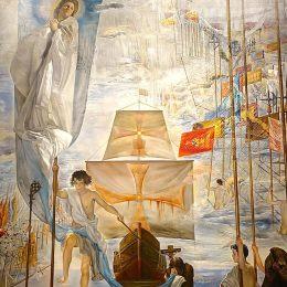 薩爾瓦多·達利高清作品《哥倫布之夢》