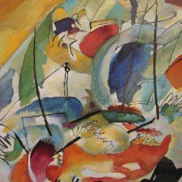 瓦西里·康定斯基高清作品《即興31號》