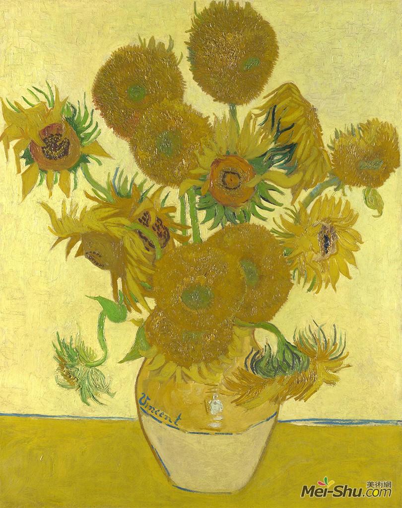梵·高作品《向日葵》