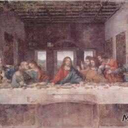 達·芬奇高清作品《最后的晚餐》