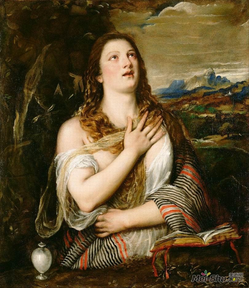 提香Titian作品 抹大拉的馬利亞