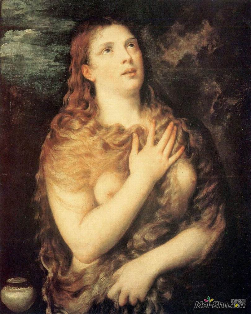 提香Titian作品 抹大拉的从良与忏悔