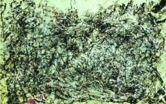 波洛克的抽象表現主義