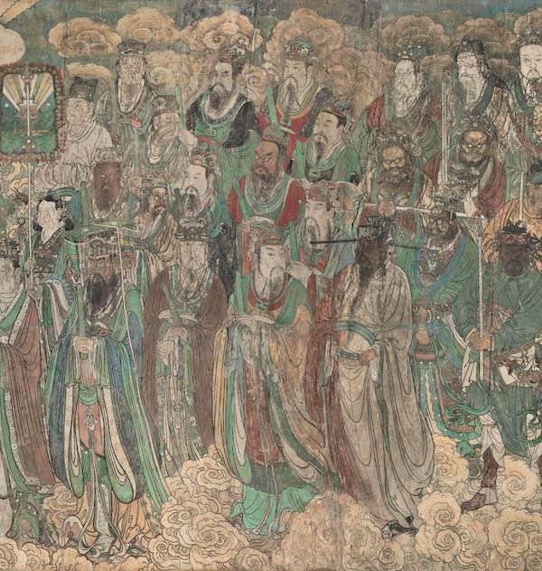 永乐宫壁画《朝元图(局部)》
