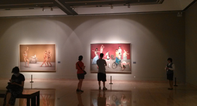 中国美术馆 展览现场 图源:网络