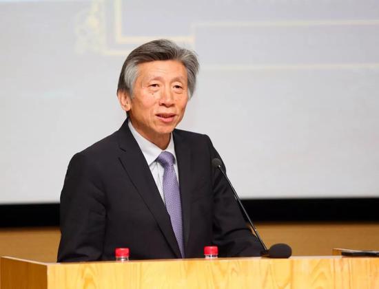 中国美术家协会主席、中央美术学院院长范迪安致辞