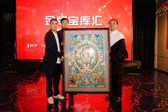 国际收藏大亨埃斯卡纳齐突然造访宝库匠心馆