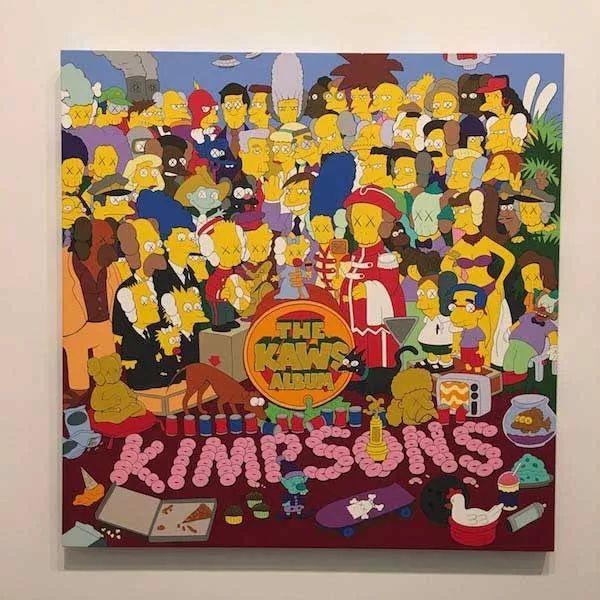 Simpsons×KAWS=Kimpsons