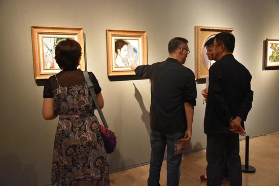 """""""万物有灵""""李贵君油画展:表达生命的奇妙和伟大"""