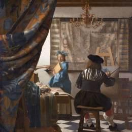 維米爾和他的油畫《畫室》