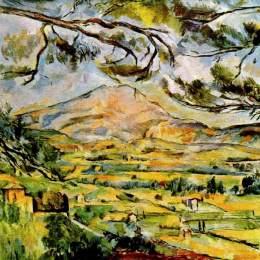 塞尚高清作品《圣維克多山》